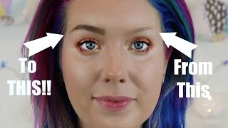 How TO- Perfect Natural Looking Eyebrows! Jade Madden