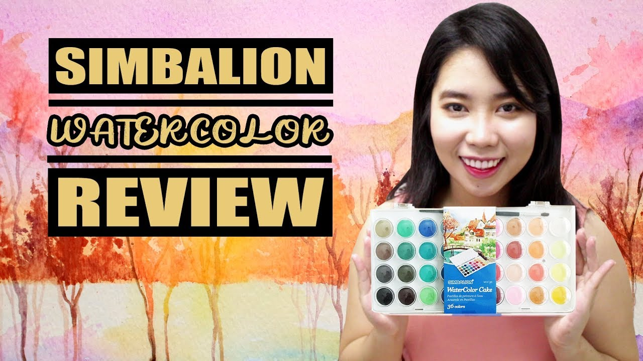 Simbalion Watercolor Cake Review Philippines Youtube