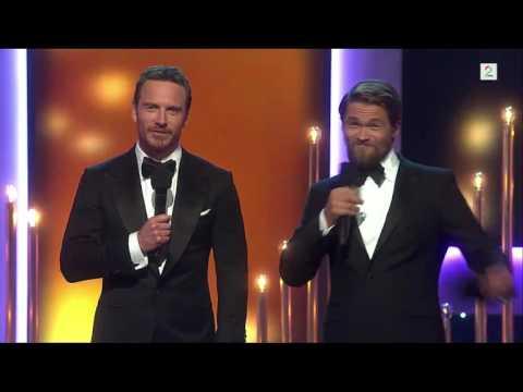 Amandaprisen 2016  Michael Fassbender