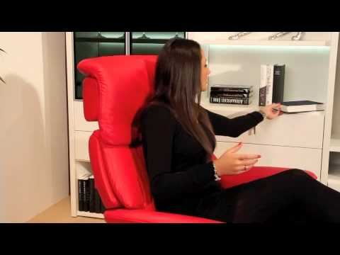 stressless studio bei m bel kempf youtube. Black Bedroom Furniture Sets. Home Design Ideas