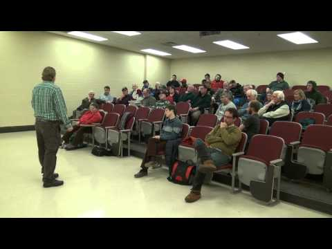 Ely Citizens Talk about Polymet, led by Aaron Klemz, Friends of the Boundary Waters