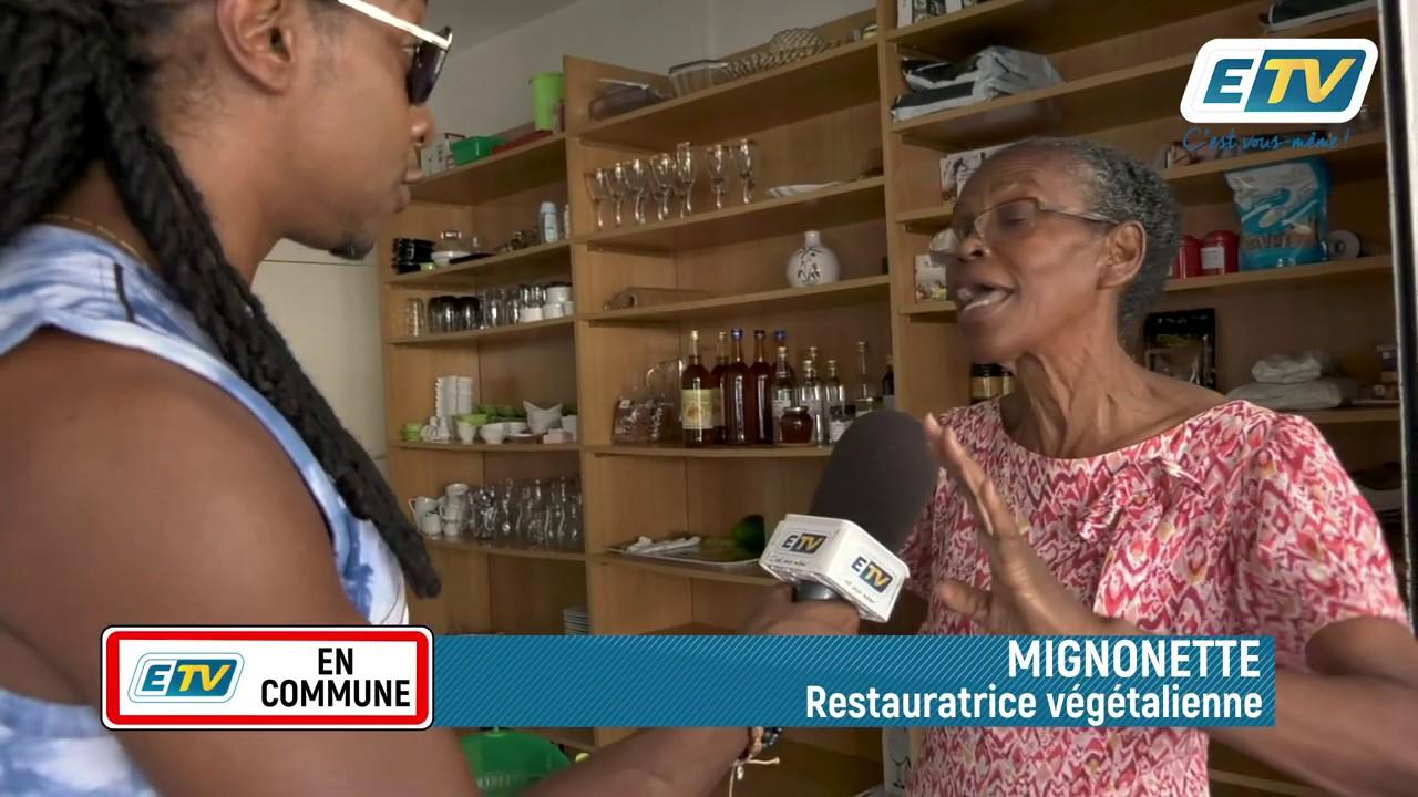 ETV en Commune: la restauration végétalienne
