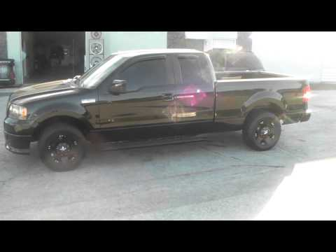 Dubsandtires.com F150 All Black Kmc Rockstar Wheels Nitto Terra Grappler