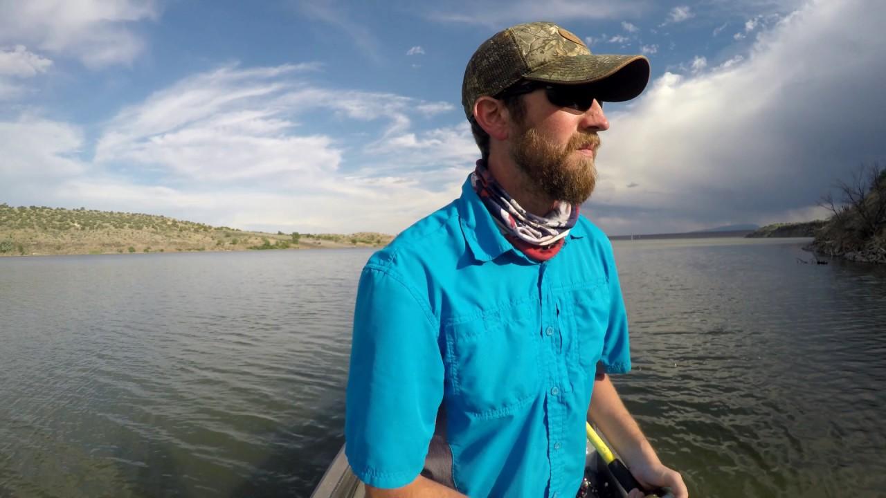 Walleye fishing at cochiti lake youtube for Cochiti lake fishing