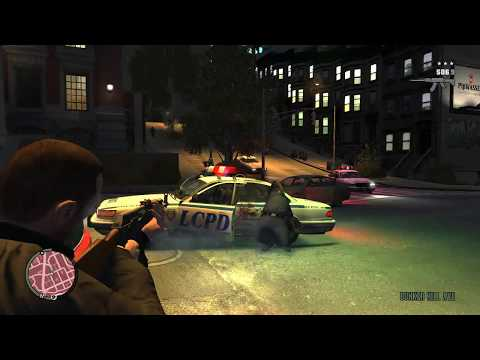 Grand Theft Auto IV-Wanted rampages and cool ramp