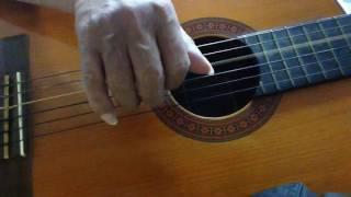 Mưa đêm tỉnh nhỏ  solo guitar