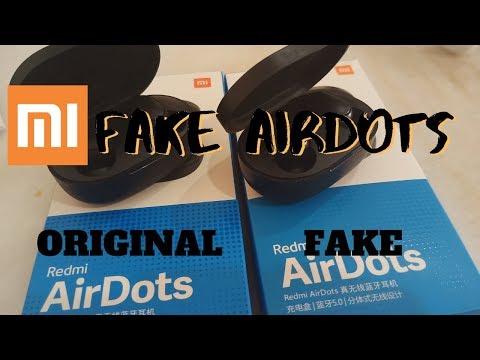 FAKE REDMI AIRDOTS VS ORIGINAL |  HOW TO KNOW THE FAKE AIRDOTS