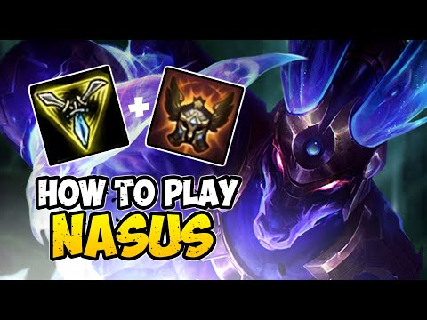 How To Play NASUS TOP For Beginners | NASUS Guide Season 10 | League Of Legends