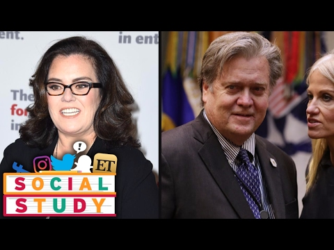 Rosie O'Donnell Hilariously Transforms into Steve Bannon in New Twitter Pic