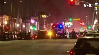 抗议警察暴力,骚乱袭击洛杉矶