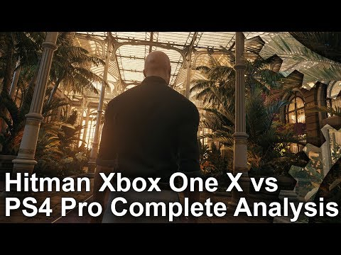 [4K HDR] Hitman on Xbox One X: The Complete Tech Analysis