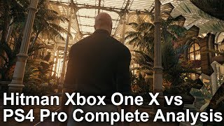 [4K HDR] Hitman on Xbox One X: The Complete Tech Analysis Video