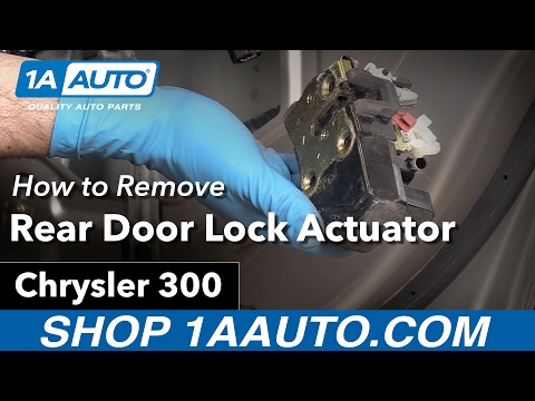 How to Replace Rear Door Lock Actuator 05-10 Chrysler 300