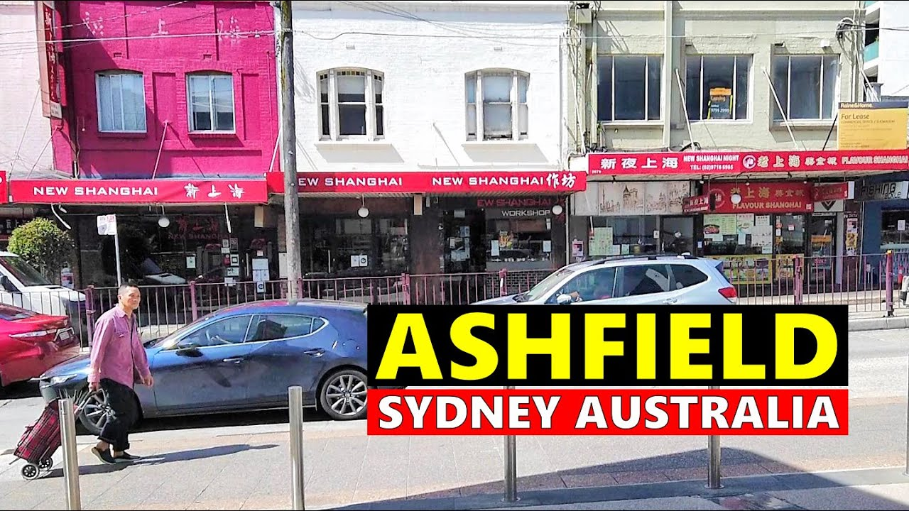 ASHFIELD Town Centre Walking Tour, Sydney Australia - Ashfield NSW Australia