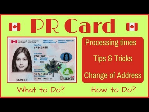 🇨🇦 Canadian PR Card - All You Need To Know