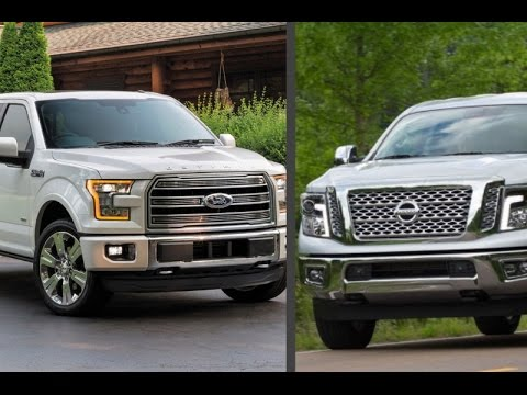 2016 Ford F 150 Limited 365hp Vs Nissan Titan XD 390hp