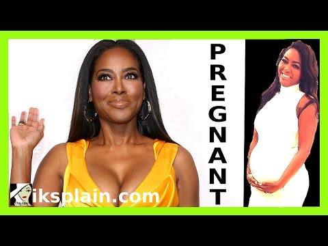 Kenya Moore PREGNANT - RHOA