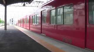 名鉄3100系「新川工場へ入場するシーン」VVVF♪