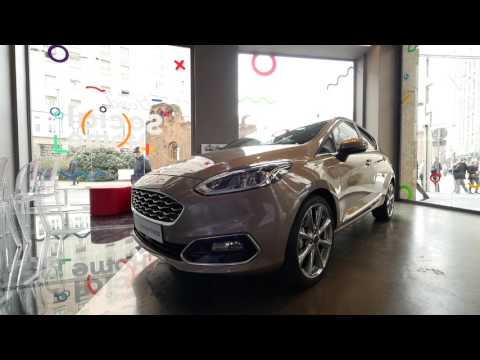 Ford Fiesta Interior Design Tour 2017: Alessio Franco, Communication Manager Ford Europa