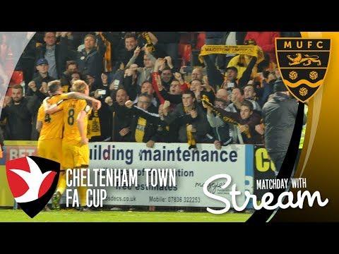Cheltenham Town Vs Maidstone United (04/11/17)