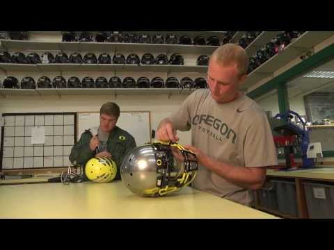 University of Oregon Athletics rely on bar codes for tracking equipment