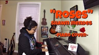 Shawn Mendes- Roses (Piano Cover by Jen Msumba) Instrumental