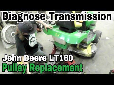how-to-diagnose-transmission-problem-and-replace-trans-pulley-on-a-john-deere-lt160---andy-squared