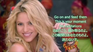 ƴ�楽 和訳 Shakira Feat. Freshlyground Waka Wakathis Time For Africa