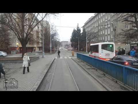 BRNO ( City Tram Travel ) Timelapse