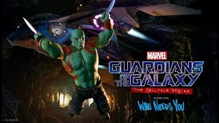 Guardianes de la Galaxia The Telltale Series -  Episodio 4 - Episodio Completo Español Sub. 1080p