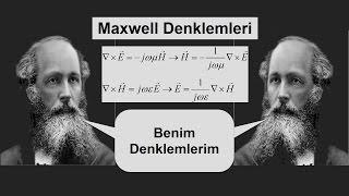 Dalga Teorisi Ders 6 Maxwell Denklemini Kullanarak Eldeki Bir Alan ile Diğer Alanı Bulma