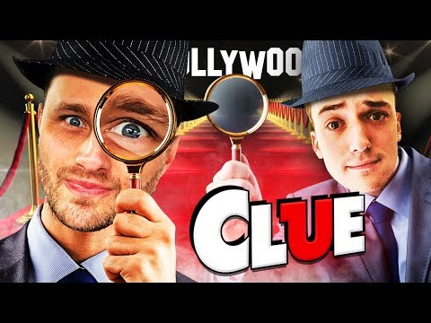 CLUEDO: HOLLYWOOD MURDER?! Clue Murder Mystery