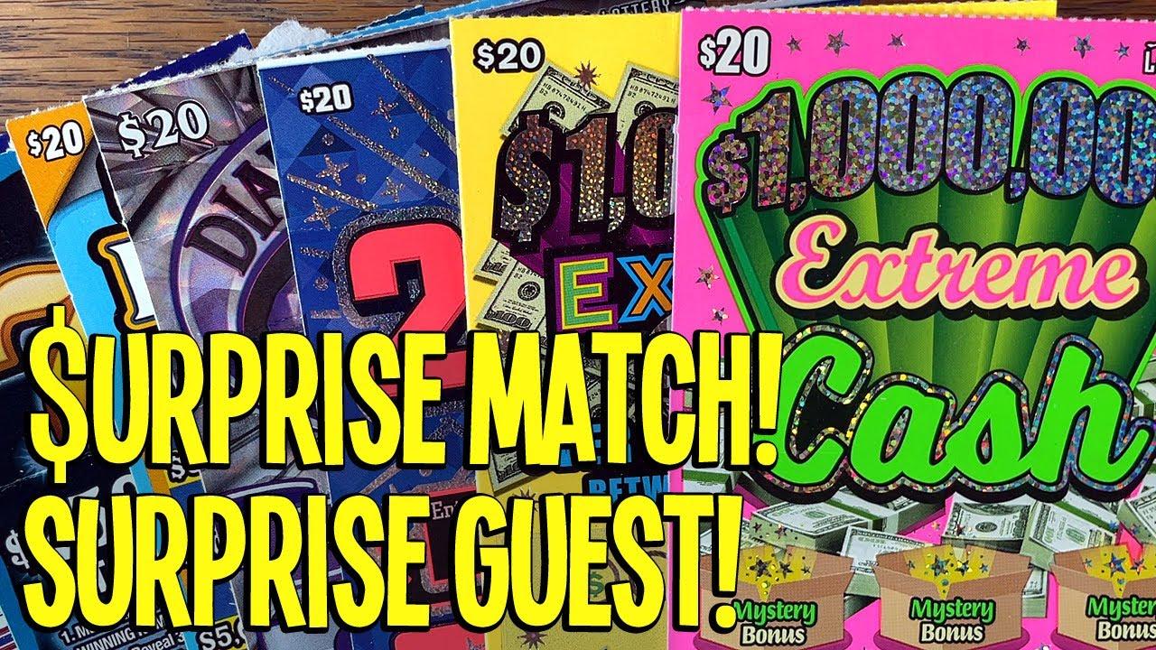 💰 $URPRISE Single Match w/ SURPRSE Guest! 🔴 $150 TEXAS LOTTERY Scratch Offs