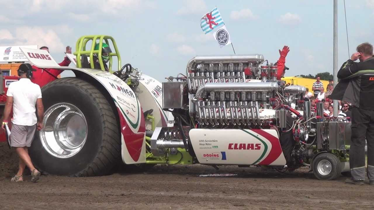 Green Monster Fighter At Tractor Pulling Edewecht 2012 By Mrjo