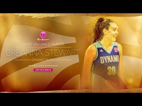 Breanna Stewart | Dynamo Kursk - Regular Season Highlights