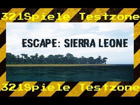 Escape : Sierra Leone - Angespielt Testzone - Gameplay Deutsch