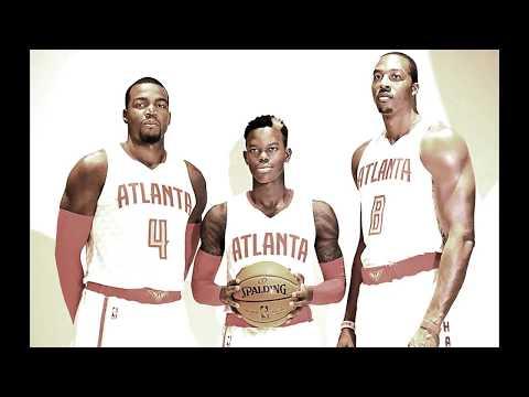 Atlanta Hawks top 10 plays of the season 16/17