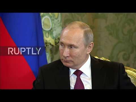 Russia: Putin meets new Kazakh president Tokayev