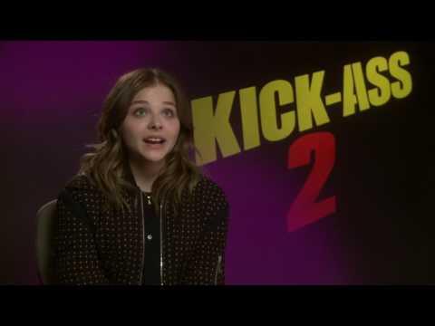 Chloe Grace Moretz Kick-Ass 2 Interview