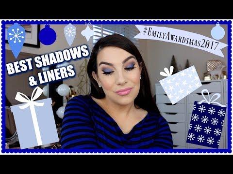 EMILY AWARDS: Best Eyeshadows & Eyeliners 2017
