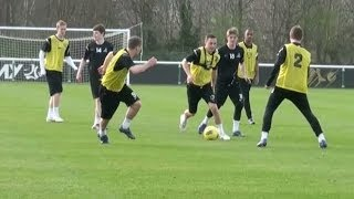 Sit Deep And Play On The Counter-attack  Football Tactics  Nike Academy