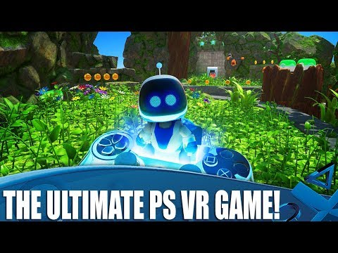 Astro Bot Rescue Mission - The ULTIMATE PS VR Game