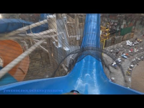 Hydro Plunge Water Coaster Slide (HD POVS) Great Wolf Lodge Mason Ohio
