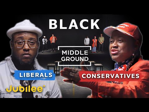 Is It Time To Get Over Slavery? Black Liberals vs Black Conservatives | Middle Ground