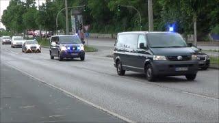 [SEK /- MEK] 5 Zivile Einsatzfahrzeuge Polizei Hamburg