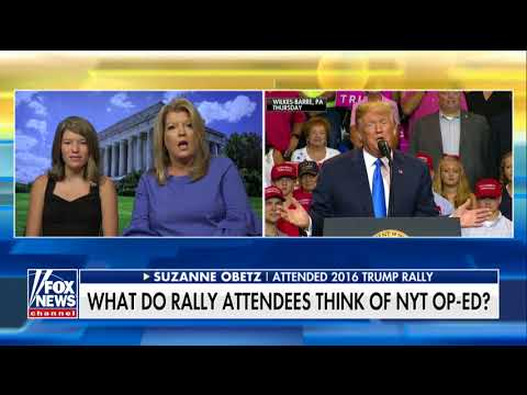 Mom Responds to 'Insulting' NYT Op-Ed on Kids at Trump Rallies