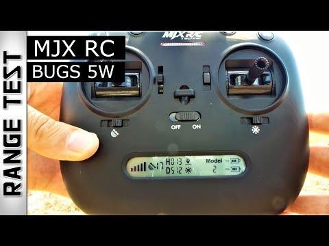 MJX RC BUGS 5W - How far it will goes - DISTANCE RANGE TEST