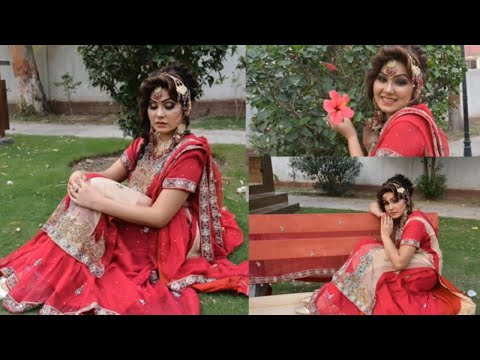 Traditional bridal makeup tutorial(nazia bilal)