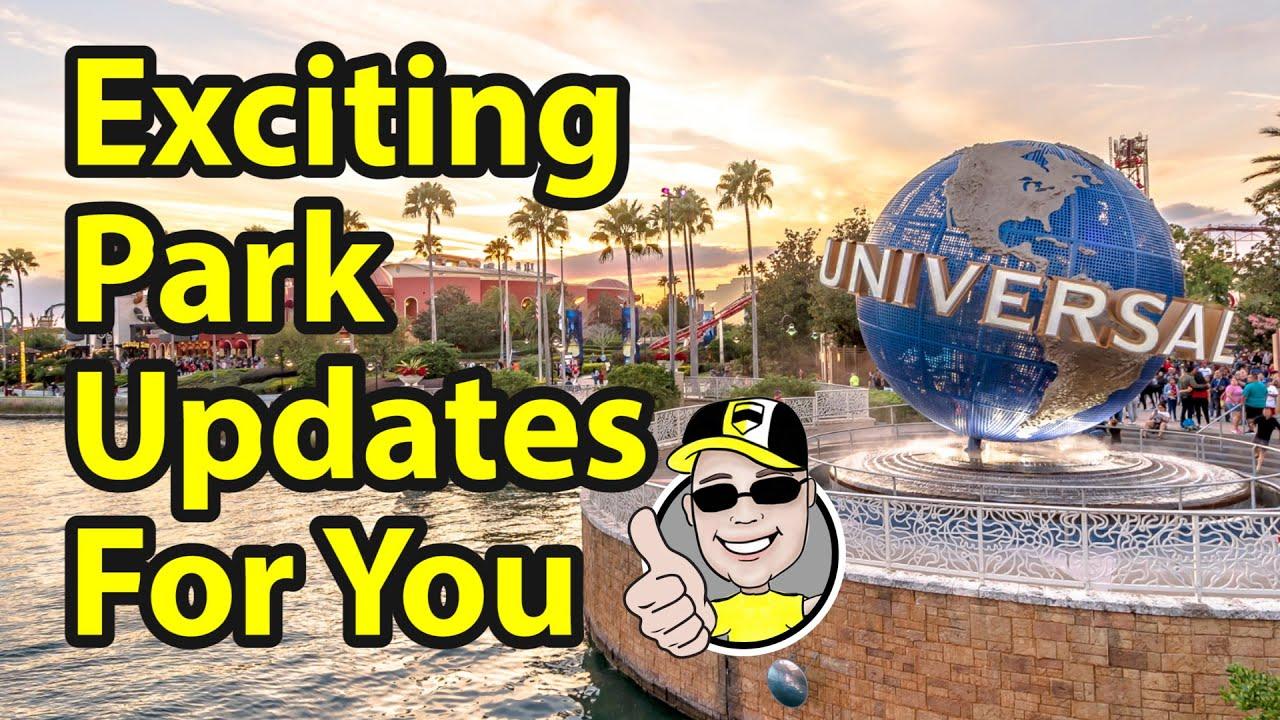 Exciting Park Updates at Universal Orlando Resort