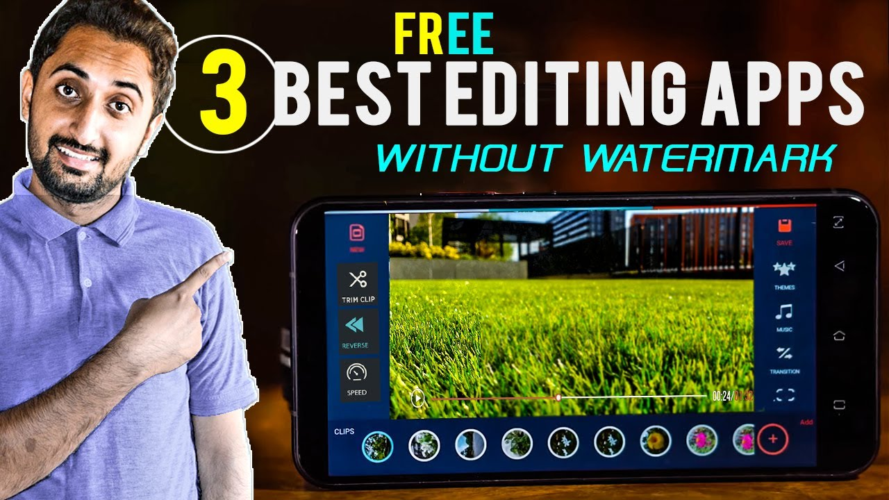 best free video editor for android without watermark